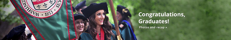 Congratulations, Graduates! Commencement 2015 photos and recap.