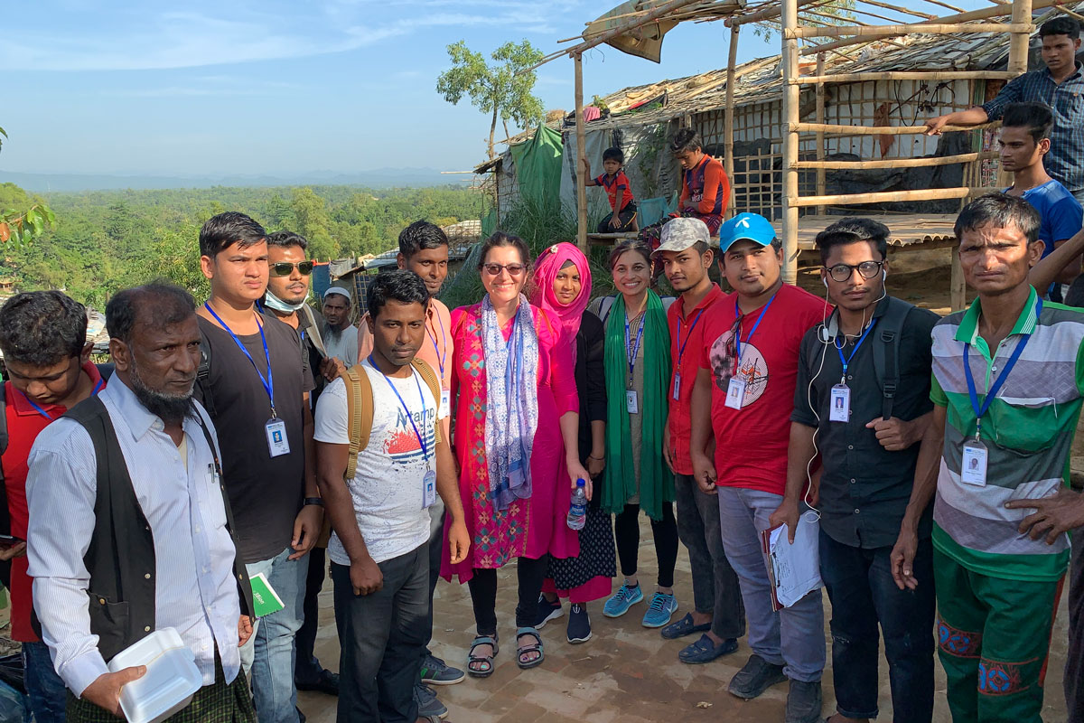 Doctors address mental health crisis among Rohingya refugees