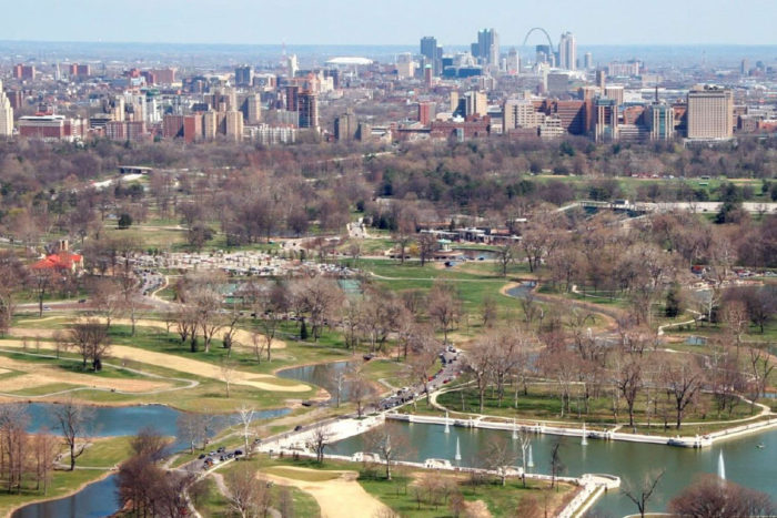 washu a partner in greenway project to connect forest park to the