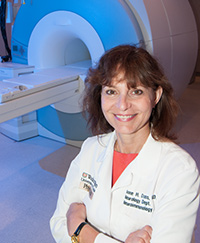 Anne Cross, MD is clinical director of the John L. Trotter Multiple Sclerosis Center at Barnes-Jewish Hospital. She is helping to find new treatments for patients with MS.