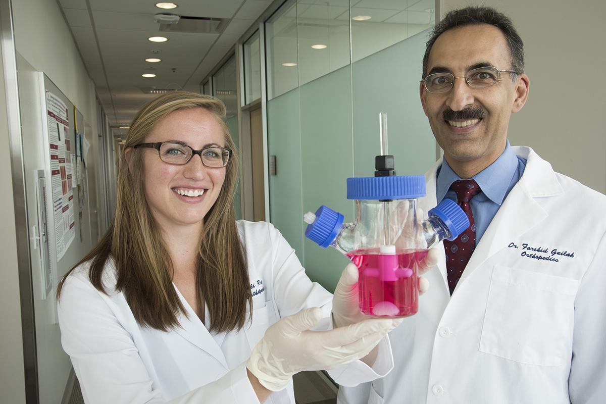 stem cells grow new cartilage
