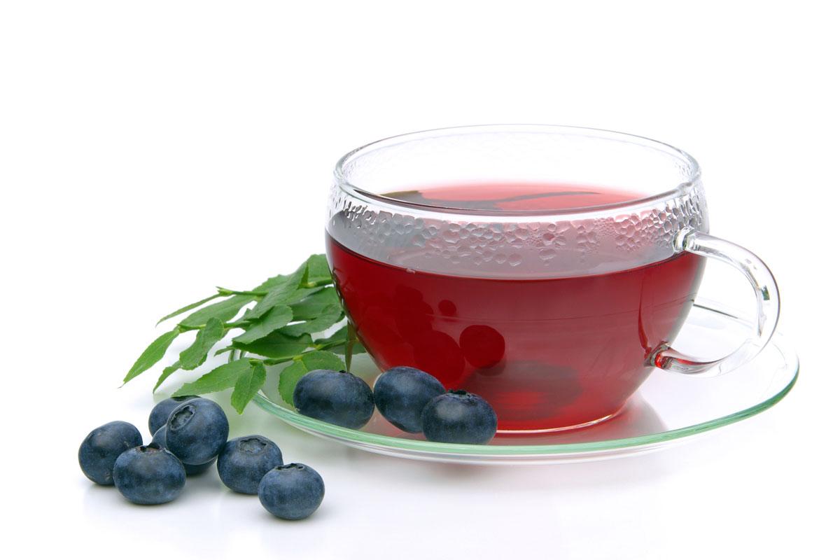 Чай черника в йогурте картинки