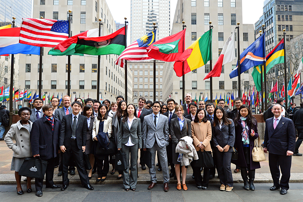 As a participant in the McDonnell Scholars Academy, Juan Pablo Saa visited New York City