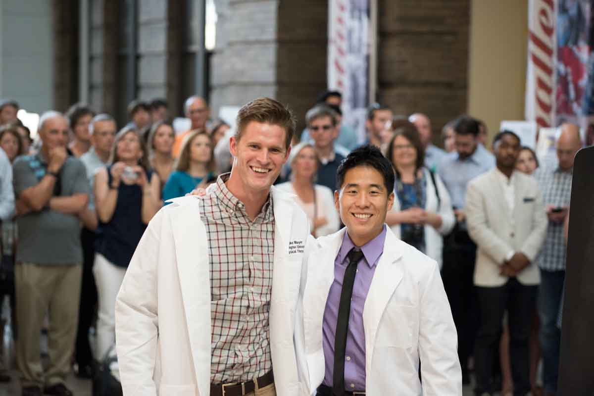Incoming physical therapy students participate in first White Coat ...