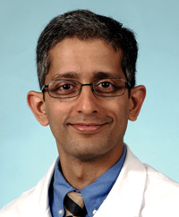Thoracic surgeon Varun Puri, MD, is developing risk models to predict lung cancer survival rates