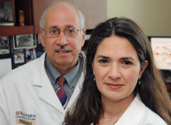 Victor Davila-Roman, MD, and Lisa de las Fuentes, MD