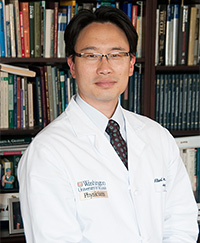 Neurosurgeon Albert Kim, MD, PhD is studying brain cancer stem cells, which drive tumor growth and can cause treatment-resistance.