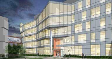 McKinley Scott Research Building rendering