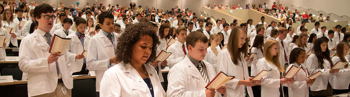 The School of Medicine offers several allied health and medical degree programs.