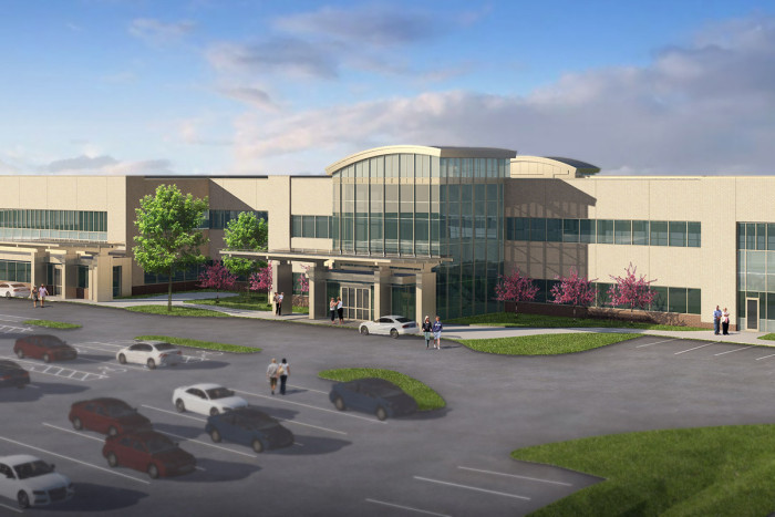 New Outpatient Care Center Under Construction In South St