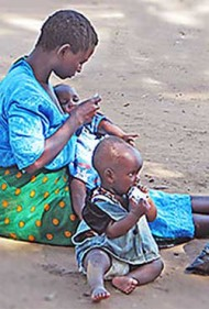 Bacteria living in the intestine are an underlying cause of a form of severe acute childhood malnutrition