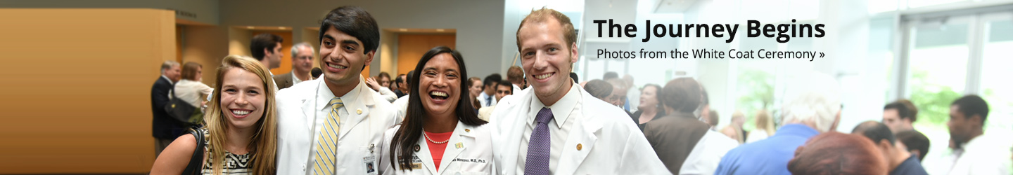 Photos and more from the White Coat Ceremony